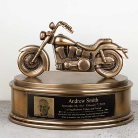 Motorcycle Urn