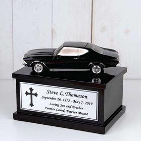 Small Muscle Car Urn