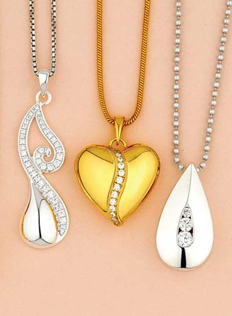 Solid Gold Cremation Jewelry